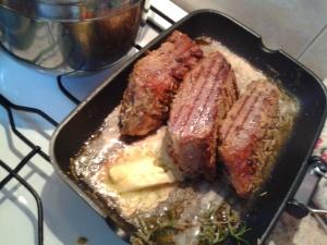 1 večírek roastbeef